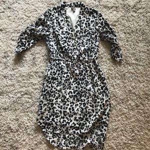 Merona for Target leopard print shirt dress